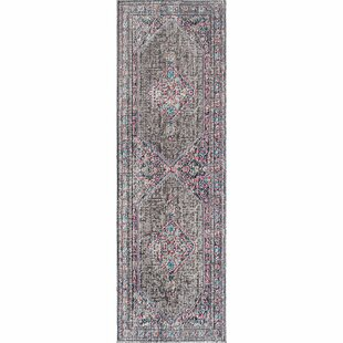 Choncey Gray/Black Area Rug by Mistana