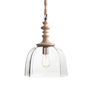 Bungalow Rose Merlyn 1-Light Dome Pendant