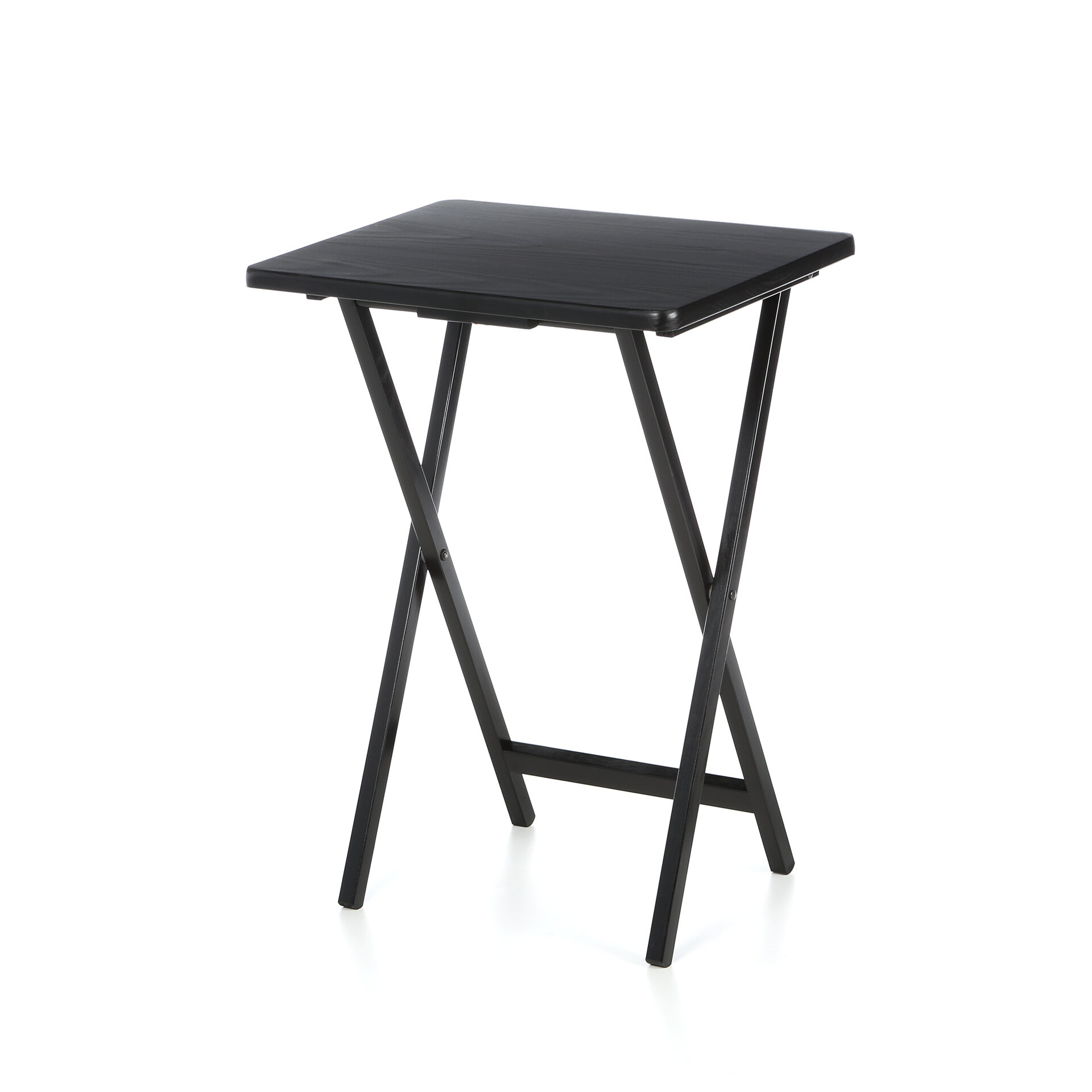 - Red Barrel Studio Ledbury Folding TV Tray Table With Stand