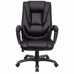 Genuine Leather Executive Chair by Offex Best #1