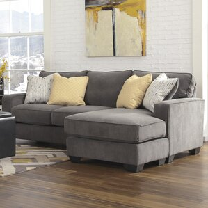 Arachne Chaise : microfiber sectional chaise - Sectionals, Sofas & Couches