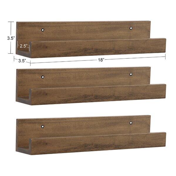 Latitude Run Cherith 3 Piece Floating Shelf Wayfair