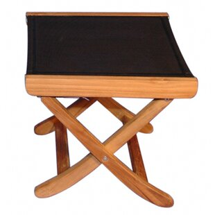 Teak Sling Foot Ottoman by Regal Teak