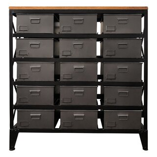 15 Drawers Accent Chest by Yosemite Home Decor SKU:DC666834 Reviews