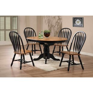 Florentia 5 Piece Solid Wood Dining Set