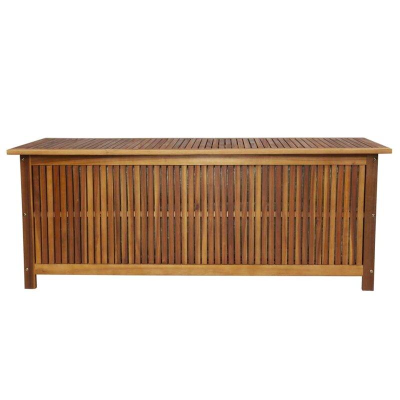 Symple Stuff Acacia Deck Box