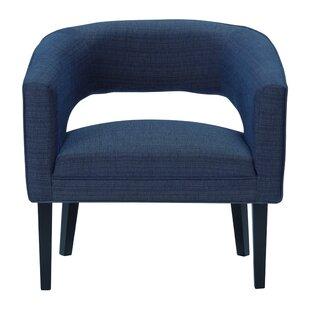 Quintanar Barrel Chair by Wrought Studio