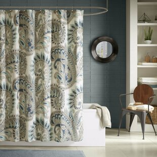 Best Kennesaw Cotton Shower Curtain ByBungalow Rose