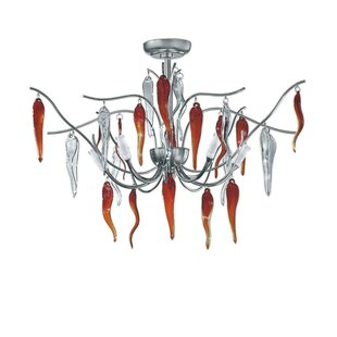 Zanin Lighting Inc. Daniela 5-Light Semi Flush Mount
