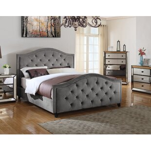Upholstered Platform Bed by BestMasterFurniture Comparison