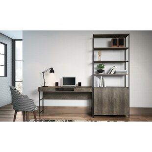 Foundry Select Blue Point 2 Piece Desk Office Suite
