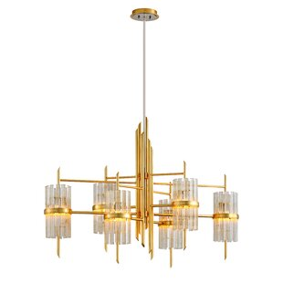 Corbett Lighting Symphony 6-Light Shaded Chandelier