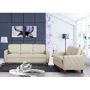 Castiglia 2 Piece Living Room Set