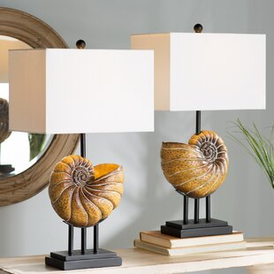 Newell Shell 28 Table Lamp (Set of 2)