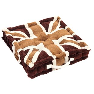 Luxury Union Jack Dining Chair Cushion By 17 Stories