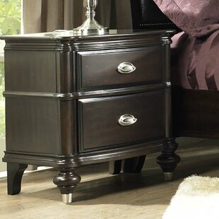 Balmers 2 Drawer Nightstand