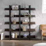 Wyble Double Wide Etagere Bookcase by Gracie Oaks