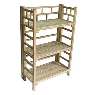 Jamison 3 Tier Standard Bookcase