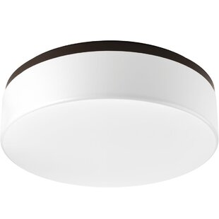 Latitude Run Siddharth 1-Light LED Flush Mount