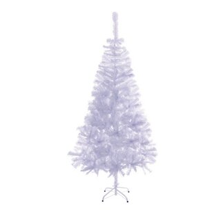 7 white pine artificial christmas tree with stand
