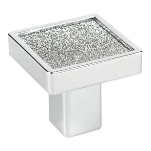 Crystal Square Knob