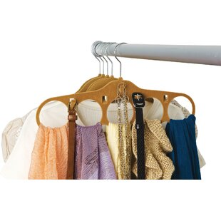 Velvet Accessories Coat Non-Slip Hanger (Set of 4) By Rebrilliant