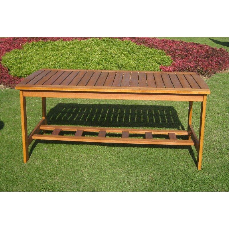 International Caravan Patio Furniture.Royal Tahiti Outdoor 2 Tier Patio Table