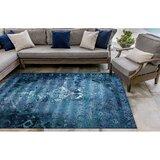 Hern Blue Indoor/Outdoor Area Rug byBungalow Rose