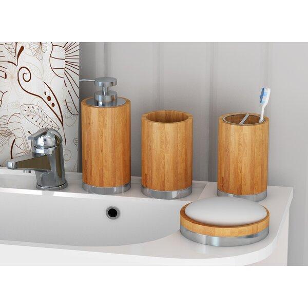 AllModern Benedick 4 Piece Bathroom Accessory Set ...