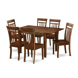 Wooden Importers Picasso 7 Piece Extendable Dining Set