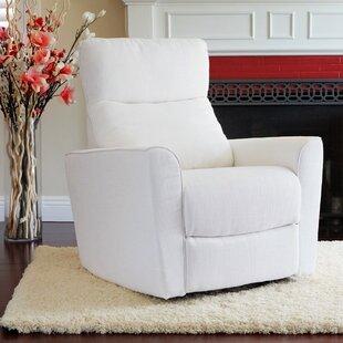 Soho Comfort Upholstered Swivel Glider ByKarla Dubois