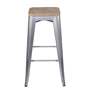Kade 30 Bar Stool by 17 Stories
