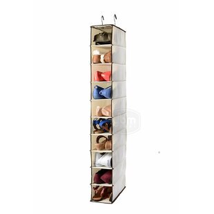 Price Check Shelf 10 Pair Hanging Shoe Organizer By Rebrilliant