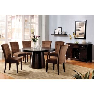 Latitude Run Kleopatra 7 Piece Dining Set