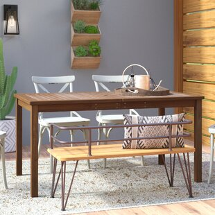 Luttrell Wooden Dining Table