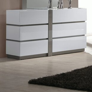 Manila 6 Drawer Double Dresser by Chintaly Imports Best Design