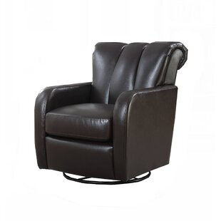 Orren Ellis Rogerson Swivel Wingback Chair