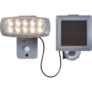 Lars 10-Light LED Outdoor Light With PIR Sensor By Sol 72 Outdoor