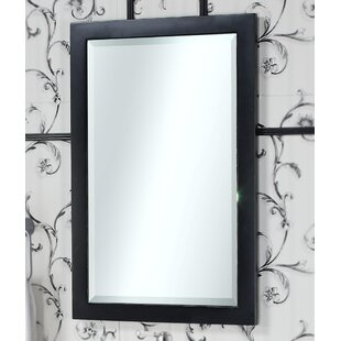 Compare IN 31 Series Beveled Edged Wall Mirror By InFurniture