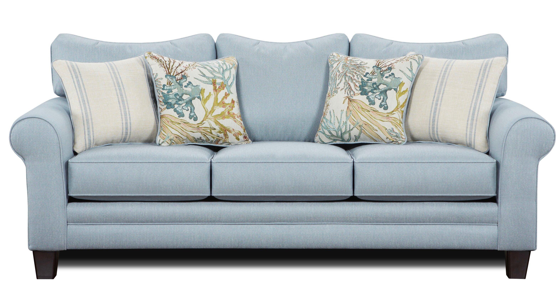 Lottie 88 Rolled Arm Sofa