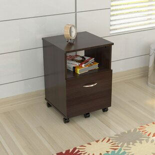 Ebern Designs Bayswater Commercial 1 Drawer Mobile Filing Cabinet
