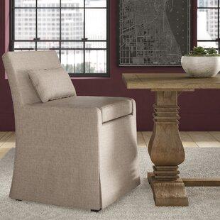 Leann Skirted Upholstered Dining Chair by Greyleigh