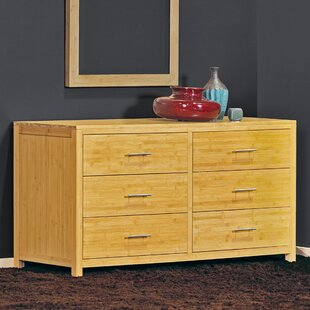 Epoch Design Niko 6 Drawer Double Dresser