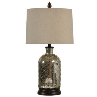 StyleCraft Home Netted Table Lamp