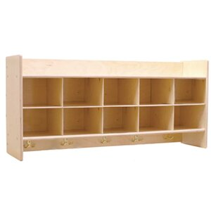 Contender 10 Compartment Cubby
