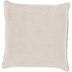 Alienor Linen Throw Pillow Cover