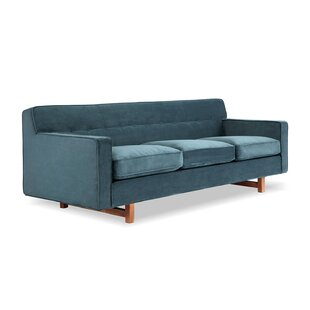 Lomonaco Mid Century Modern Classic Sofa by Mercury Row