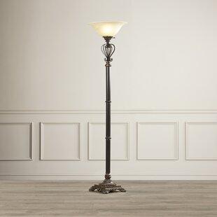 Budget Arbuckle 72.5 Torchiere Floor Lamp By Fleur De Lis Living