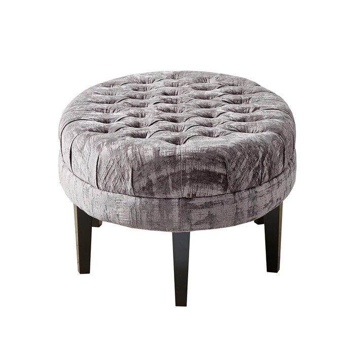 Terrific Keats Tufted Cocktail Ottoman Evergreenethics Interior Chair Design Evergreenethicsorg
