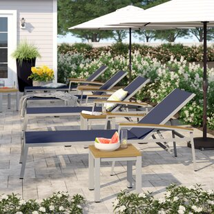 Caspian Chaise Lounge Set (Set of 8) by Sol 72 Outdoor